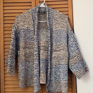 Vince chunky knit cardigan xs